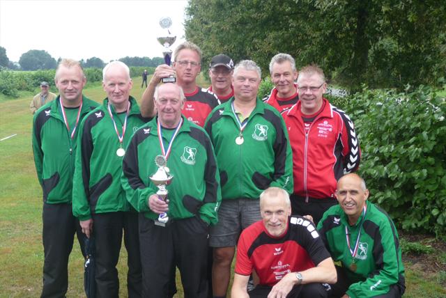 Alle titelverdedigers succesvol tijdens finales NKB Veldcup