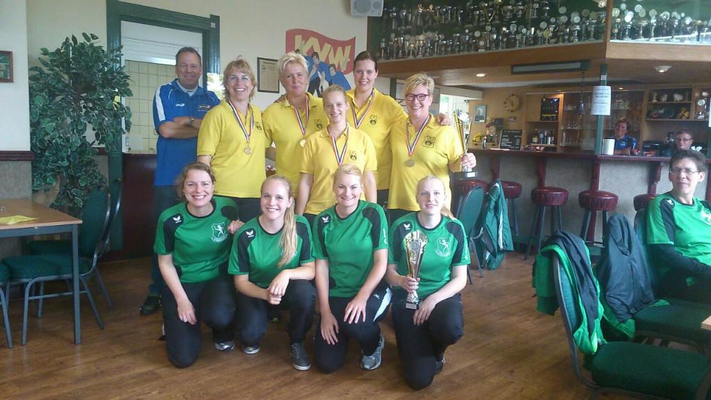 Dames Finale NKB Straatcup 2014