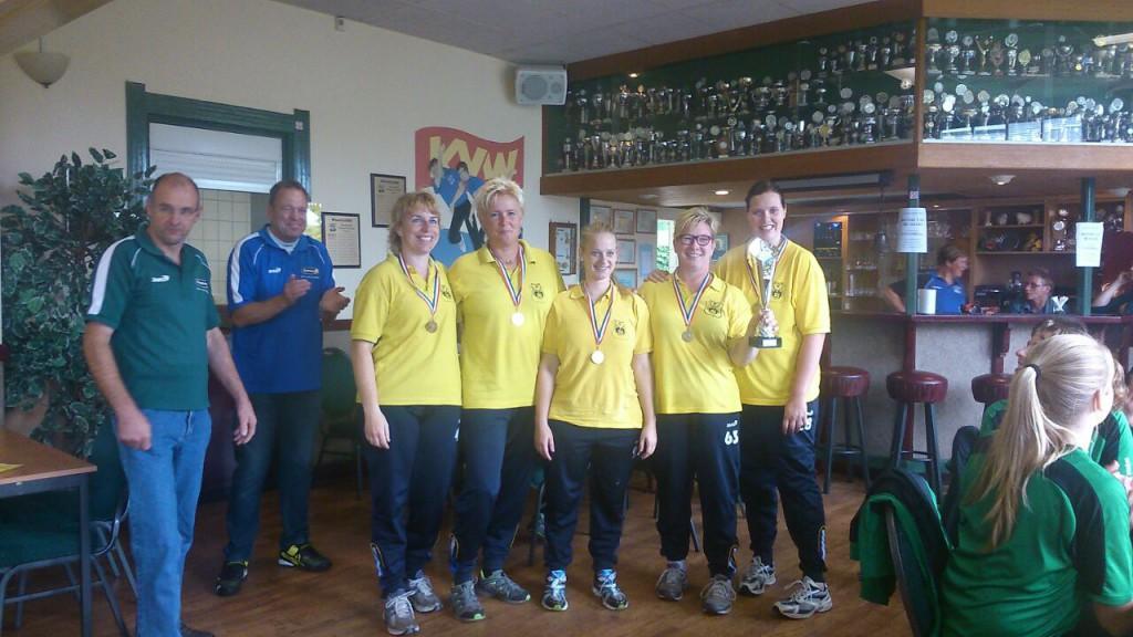 Dames Zwolle winnaar NKB Straatcup 2014