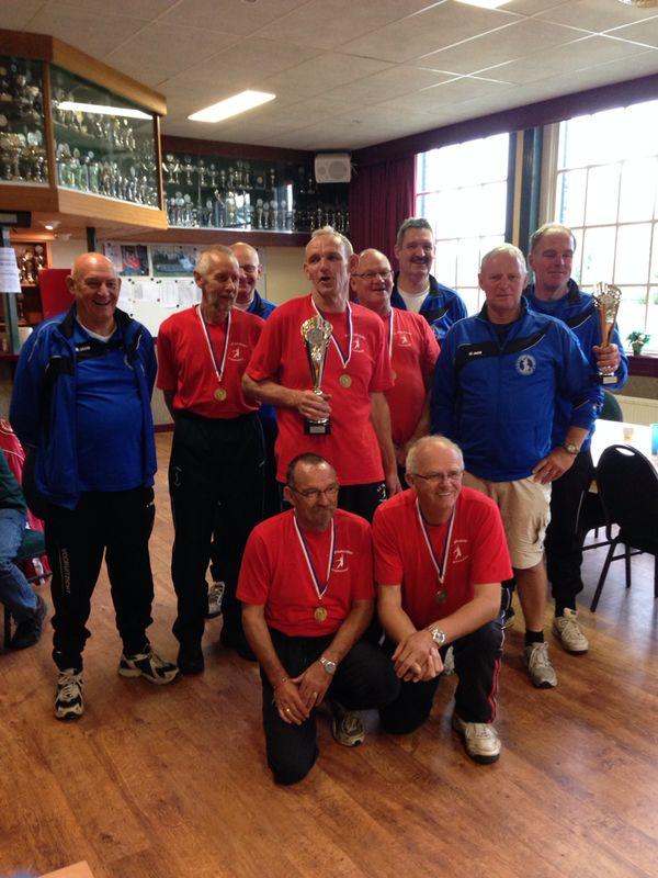 Heren veteranen Finale NKB Straatcup 2014