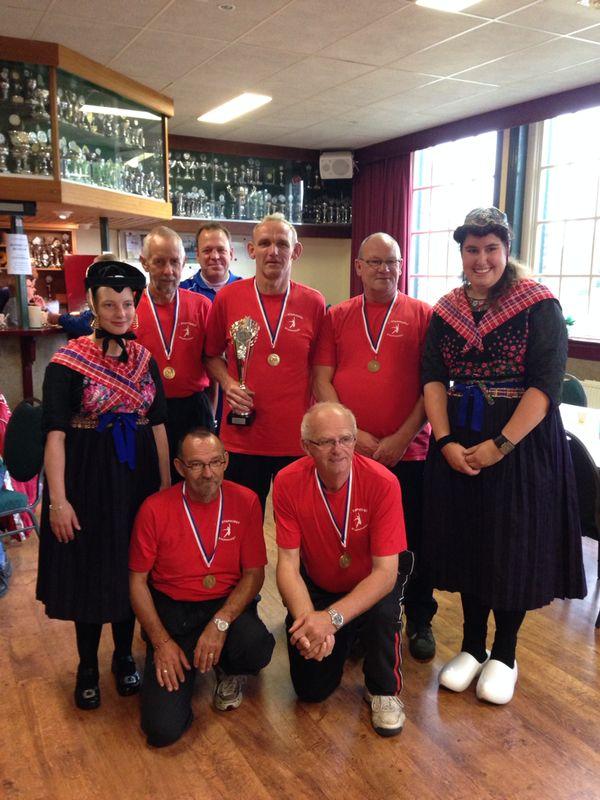 Heren veteranen Staphorst winnaar NKB Straatcup 2014