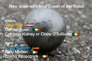 Queen of the Roads - semifinal draw