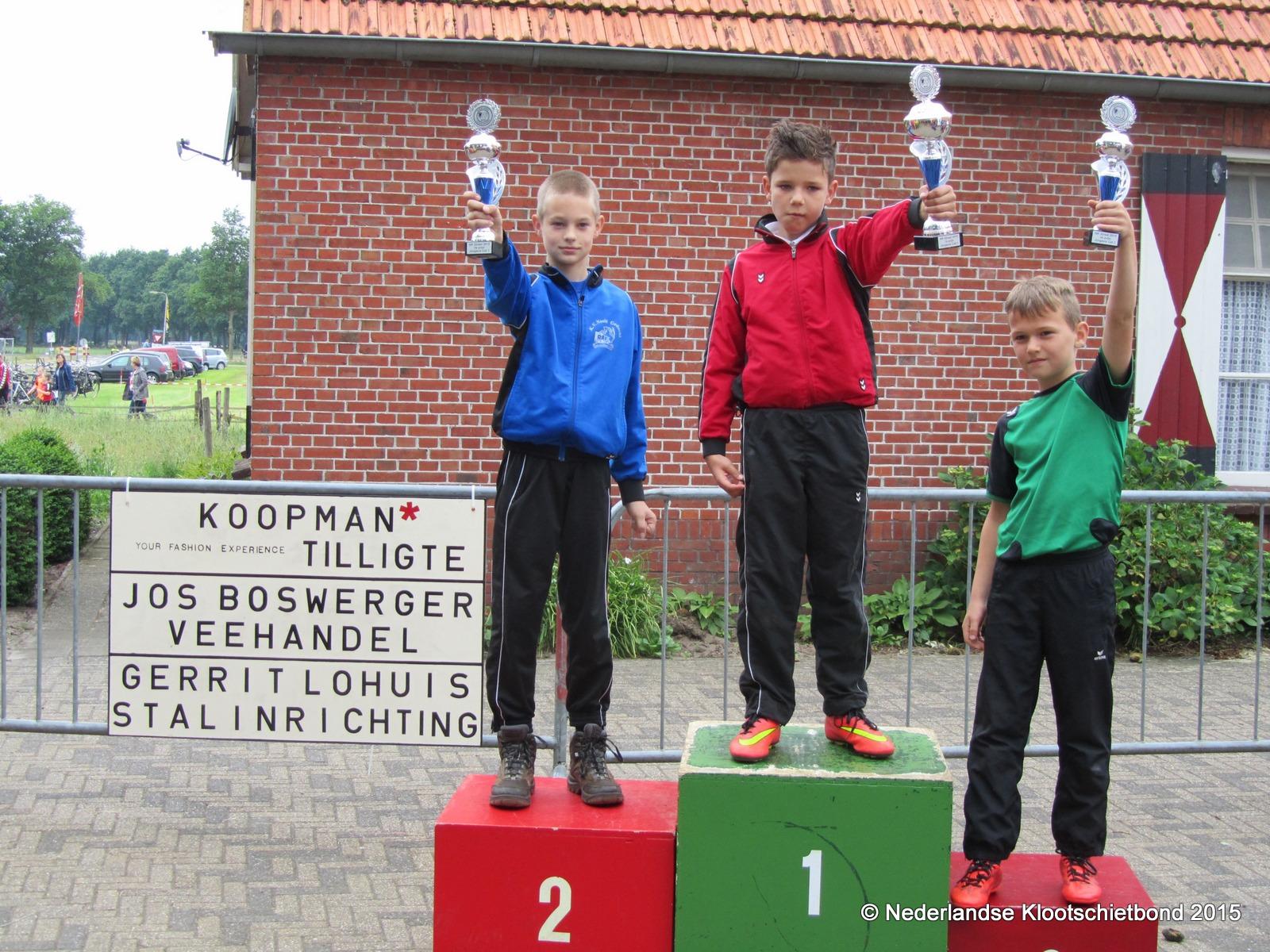 NK Junioren op zondag 11 juni a.s. in Beuningen