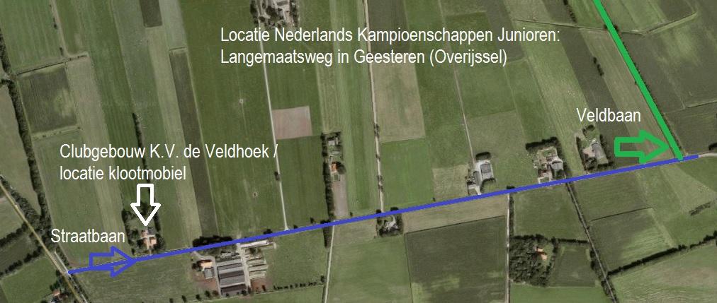 NK Junioren route