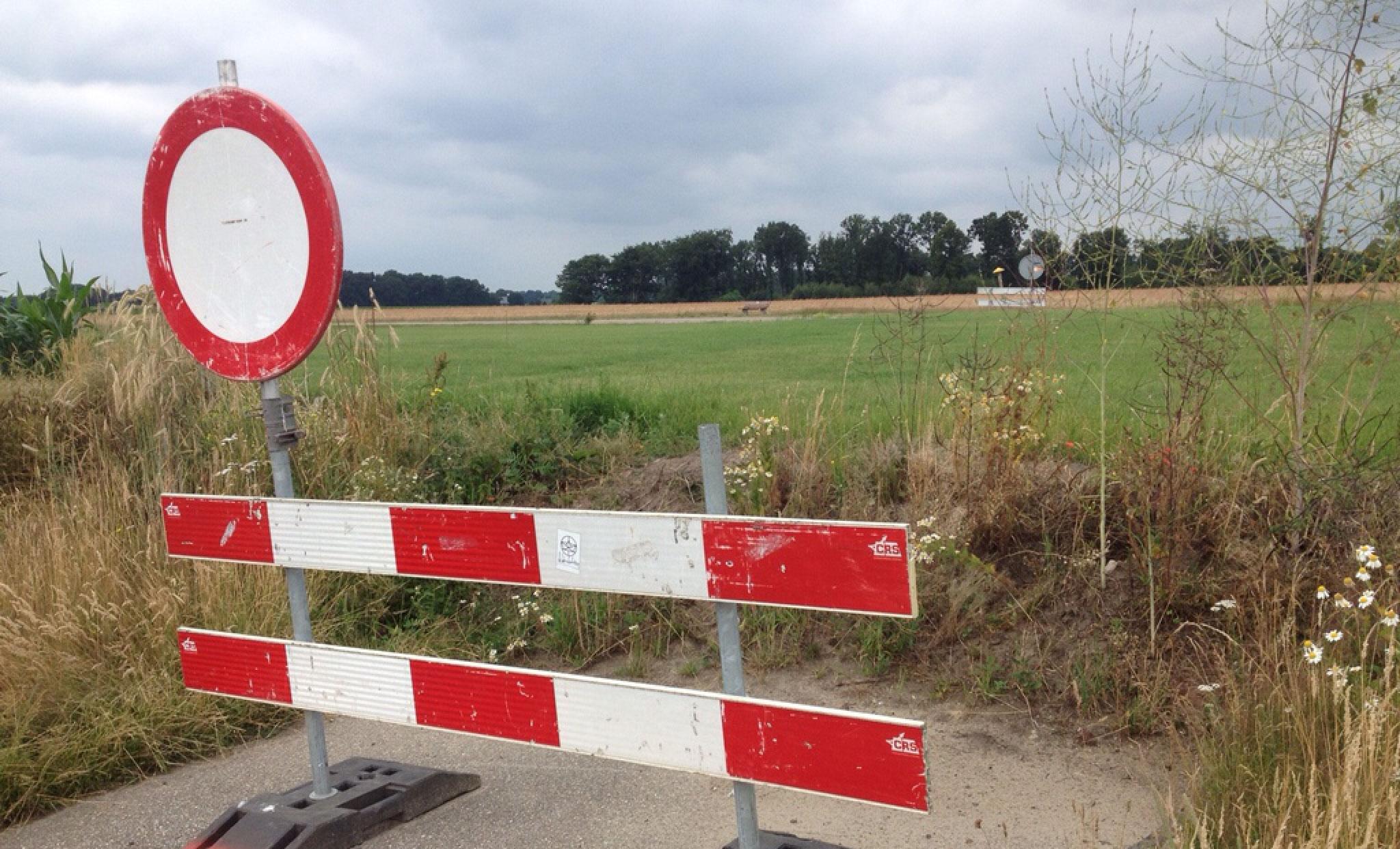 Weg afgesloten voor EK Klootschieten 2016 in Reutum en Tilligte