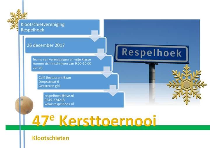 Kersttoernooi KV Respelhoek