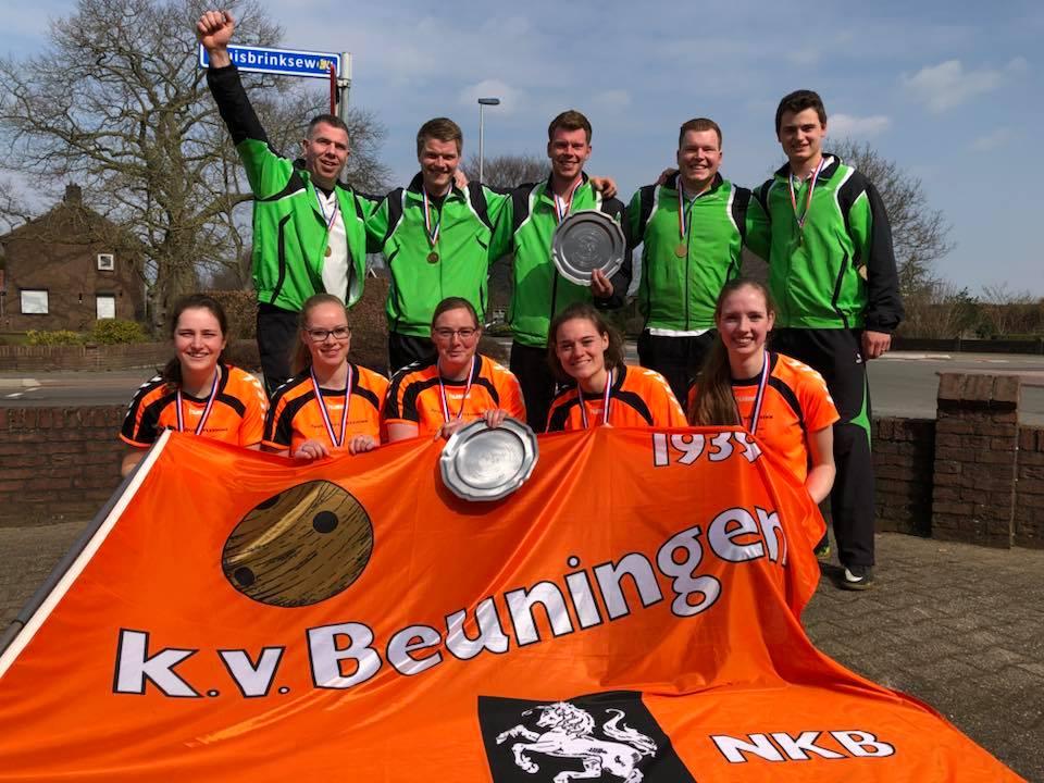 KV Beuningen en KV Mander winnaars LSC