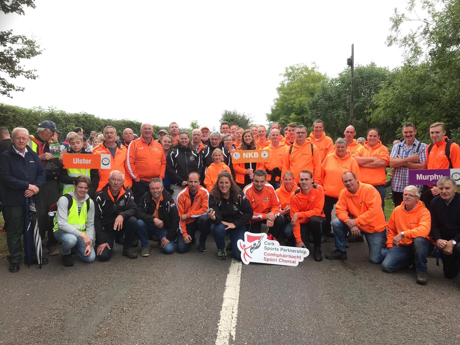 Nederlands team beleeft spannende wedstrijden in Ierland