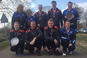 Heren KV Beuningen en dames KV Zwolle winnen LSC 2015-2016